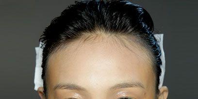 Ear, Lip, Cheek, Mouth, Hairstyle, Skin, Chin, Forehead, Eyebrow, Eyelash,