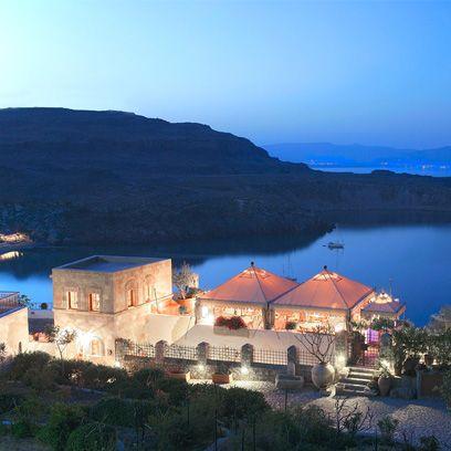 House, Highland, Hill, Roof, Azure, Home, Lake, Loch, Coast, Reservoir,