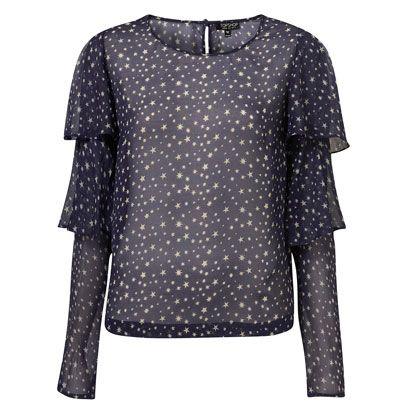 Blue, Product, Sleeve, Collar, Pattern, Textile, White, Style, Fashion, Black,