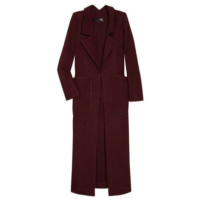 Clothing, Collar, Sleeve, Coat, Textile, Outerwear, Blazer, Fashion, Maroon, Button,