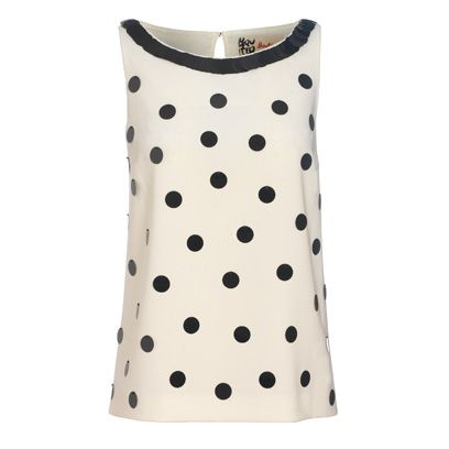 Product, Brown, Sleeve, Pattern, Textile, White, Polka dot, Dress, Grey, Beige,