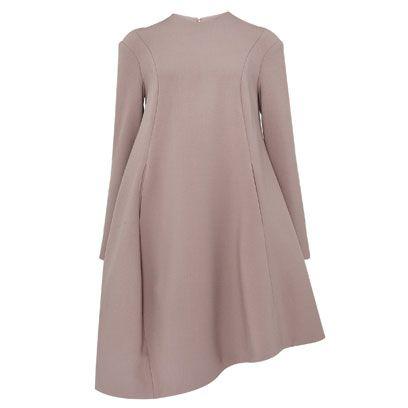 Sleeve, Textile, Dress, Coat, Pattern, Fashion, Grey, One-piece garment, Day dress, Fashion design,