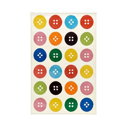 Colorfulness, Yellow, Pattern, Circle, Aqua, Polka dot, Visual arts, Square,