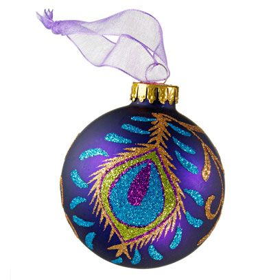 Blue, Christmas decoration, Christmas ornament, Purple, Holiday ornament, Ornament, Lavender, Teal, Violet, Turquoise,