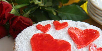 Food, Cuisine, Sweetness, Red, Dessert, Baked goods, Ingredient, Dish, Recipe, Garnish,