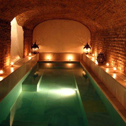 Property, Amber, Ceiling, Interior design, Arch, Light fixture, Crypt, Hacienda, Landscape lighting, Hotel,