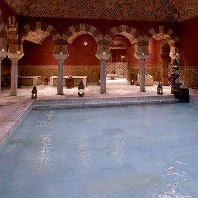 Floor, Arch, Arcade, Column, Tourist attraction, Byzantine architecture, Thermae, Courtyard, Historic site, Tile,