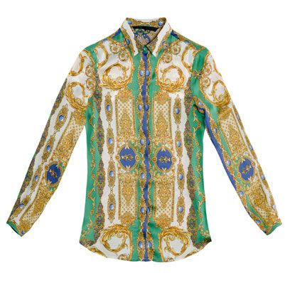 Yellow, Sleeve, Collar, Green, Textile, Pattern, Turquoise, Teal, Fashion, Aqua,