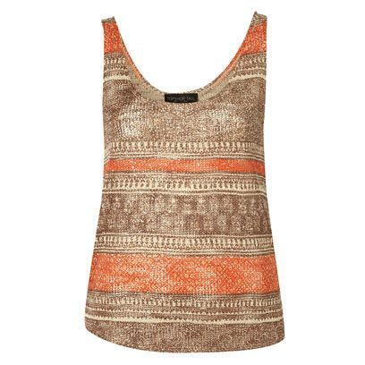 Brown, Product, Sleeveless shirt, Textile, Pattern, Orange, Vest, Active tank, Baby & toddler clothing, One-piece garment,
