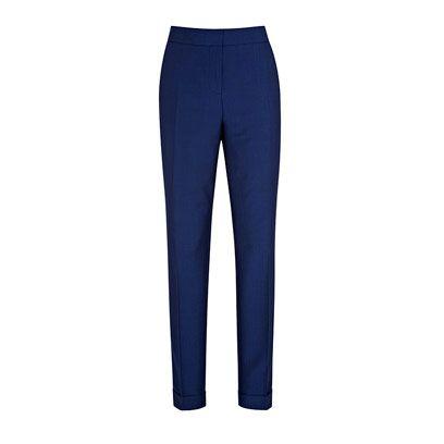 Blue, Textile, Standing, Waist, Electric blue, Denim, Azure, Active pants, Tights, Cobalt blue,