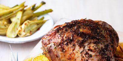 Food, Ingredient, Citrus, Roasting, Lemon, Cuisine, Recipe, Cooking, Chicken meat, Kitchen utensil,
