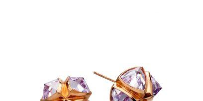Brown, Jewellery, Lavender, Purple, Violet, Amber, Fashion accessory, Natural material, Orange, Magenta,