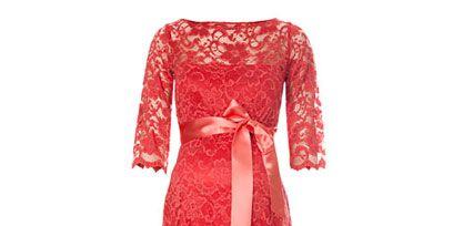 Dress, Red, One-piece garment, Pattern, Carmine, Fashion, Day dress, Maroon, Fashion design, Design,