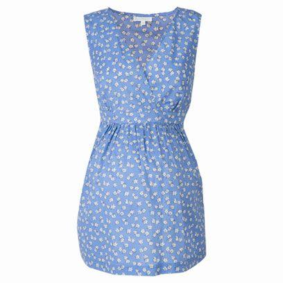 Blue, Textile, Dress, Pattern, One-piece garment, Electric blue, Aqua, Azure, Day dress, Cobalt blue,