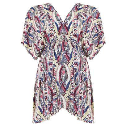 Sleeve, Textile, Collar, Pattern, Violet, Visual arts, One-piece garment, Pattern, Fashion design, Day dress,