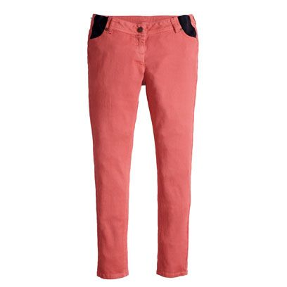 Clothing, Product, Brown, Denim, Trousers, Textile, Jeans, Pocket, Red, Standing,