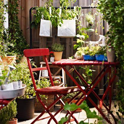 Small Garden Ideas With Pots