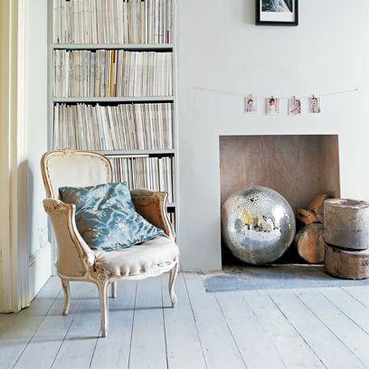 Wood, Room, Interior design, Wall, Floor, Shelf, Shelving, Chair, Grey, Hardwood,