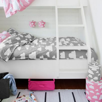 Room, Textile, Interior design, Pink, Bedroom, Linens, Home, Bedding, Bed sheet, Grey,