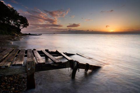 Sky, Nature, Sea, Sunset, Natural landscape, Horizon, Morning, Shore, Ocean, Cloud,