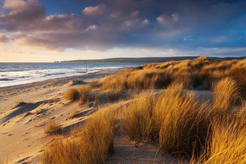 Sky, Sand, Natural landscape, Nature, Coast, Natural environment, Shore, Beach, Cloud, Sea,