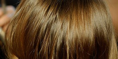 Brown, Hairstyle, Style, Brown hair, Blond, Long hair, Hair coloring, Liver, Back, Hair accessory,