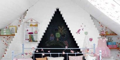 Room, Interior design, Green, Textile, Home, Wall, Pink, Purple, Interior design, Linens,