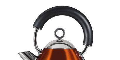 Product, Brown, Liquid, Amber, Orange, Maroon, Machine, Circle, Small appliance, Silver,