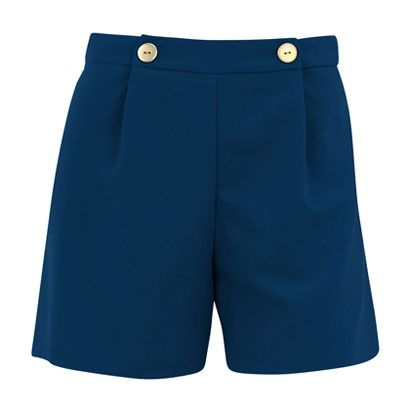 Blue, Denim, Textile, Standing, White, Style, Pocket, Electric blue, Fashion, Uniform,