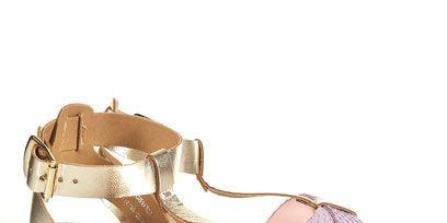 Footwear, Product, Shoe, Sandal, Fashion accessory, Lavender, Tan, Fashion, Purple, Natural material,