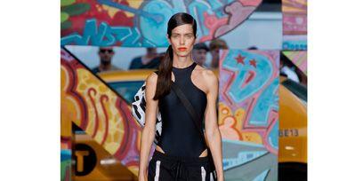 Street fashion, Waist, Electric blue, Active pants, sweatpant, Fashion design, Sandal,