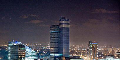 Metropolitan area, Night, Metropolis, City, Urban area, Tower block, Cityscape, Architecture, Commercial building, Building,