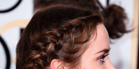 Ear, Earrings, Hairstyle, Skin, Chin, Forehead, Eyebrow, Eyelash, Body piercing, Jewellery,
