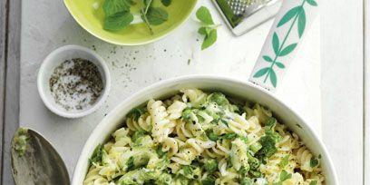 Food, Ingredient, Cuisine, Dishware, Kitchen utensil, Recipe, Leaf vegetable, Spoon, Cutlery, Produce,