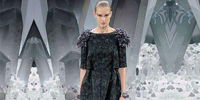Clothing, Sleeve, Textile, Winter, Style, Street fashion, Dress, Fashion, Fashion model, Fashion show,