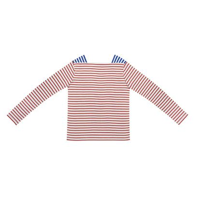 Sleeve, Carmine, Electric blue, Maroon, Peach, Active shirt, Creative arts, Graphics,