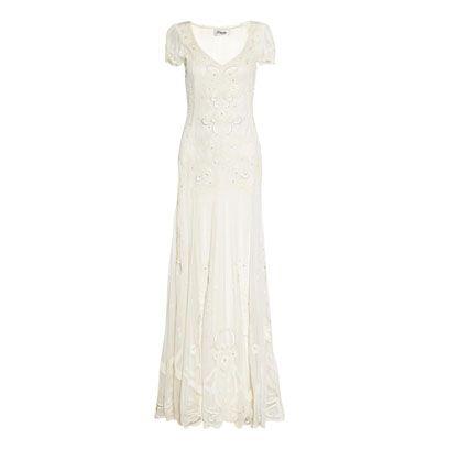 Dress, Textile, White, One-piece garment, Formal wear, Style, Wedding dress, Pattern, Gown, Day dress,
