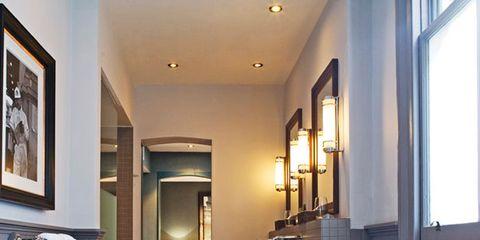 Room, Interior design, Property, Interior design, Ceiling, Fixture, Picture frame, Home, Plumbing fixture, Sash window,
