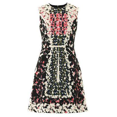 Dress, Textile, Pattern, Red, One-piece garment, Formal wear, Day dress, Fashion, Maroon, Fashion design,