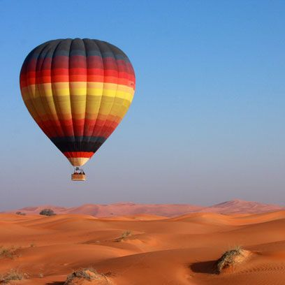 Nature, Hot air ballooning, Sky, Daytime, Natural environment, Aerostat, Landscape, Hot air balloon, Sand, Atmosphere,
