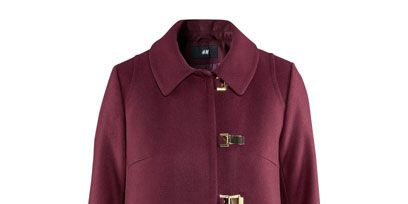 Product, Collar, Sleeve, Textile, Magenta, Coat, Outerwear, Red, Purple, Maroon,