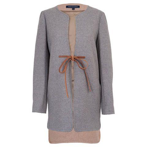 Product, Sleeve, Collar, Textile, Pattern, Fashion, Blazer, Grey, Woolen, Button,