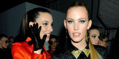 Face, Hair, Head, Nose, Eye, Hairstyle, Eyelash, Fashion, Earrings, Eye liner,