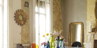 Distressed Walls Wall And Flooring Ideas Decorating Ideas Interiors