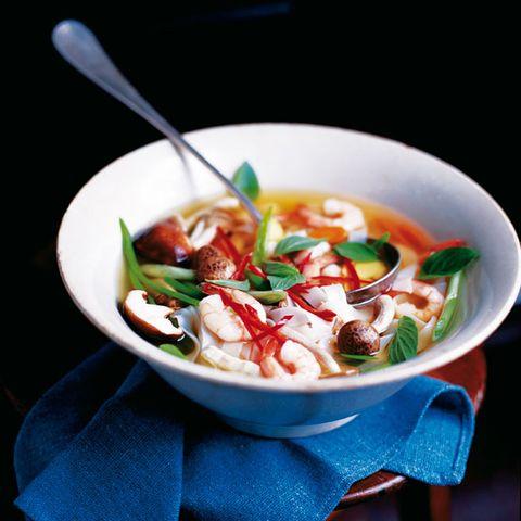 Food, Cuisine, Ingredient, Dish, Recipe, Tableware, Spoon, Produce, Soup, Bowl,