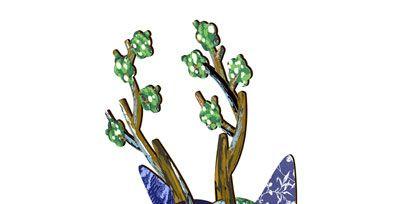 Art, Bag, Illustration, Graphics, Drawing, Shoulder bag, Plant stem, Painting,