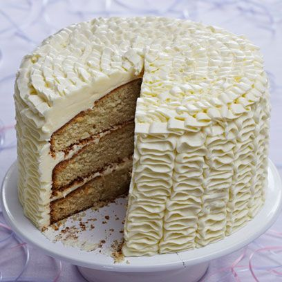 Dish, Food, Buttercream, Cuisine, Dessert, Cake, Baked goods, Icing, Ingredient, White cake mix,