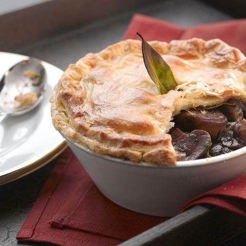 Dish, Food, Cuisine, Ingredient, Pot pie, Baked goods, Produce, Steak pie, Pie, Comfort food,