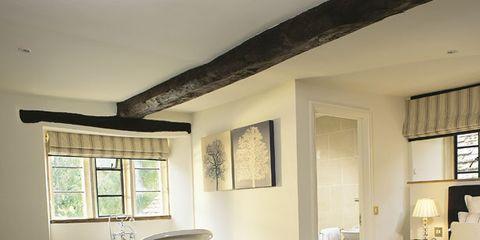 Room, Interior design, Floor, Window, Property, Bed, Wall, Furniture, Ceiling, Flooring,
