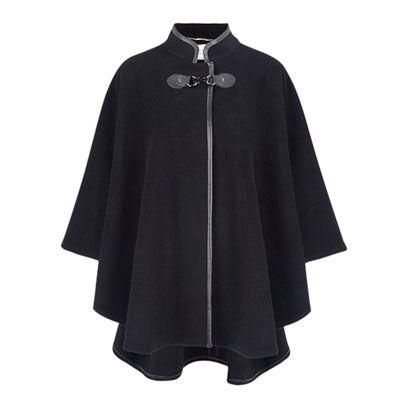 Sleeve, Collar, Textile, Outerwear, Fashion, Black, Grey, Cloak, Mantle, Costume,
